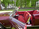 Chevrolet Impala 1965 Cabriolet Red Brown: Image
