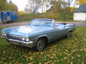 Chevrolet Impala 1965 Ss Cabrio Light Blue 001