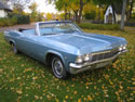 Chevrolet Impala 1965 Ss Cabrio Light Blue 008