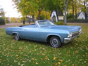 Chevrolet Impala 1965 Ss Cabrio Light Blue 009