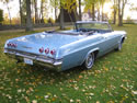 Chevrolet Impala 1965 Ss Cabrio Light Blue 012