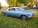 Chevrolet Impala 1965 Ss Cabrio Light Blue 033