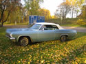 Chevrolet Impala 1965 Ss Cabrio Light Blue 035