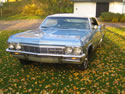 Chevrolet Impala 1965 Ss Cabrio Light Blue 042