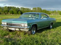 Chevrolet Impala 1965 Ss 2d Hard Top Light Green 007