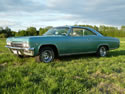 Chevrolet Impala 1965 Ss 2d Hard Top Light Green 009