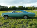 Chevrolet Impala 1965 Ss 2d Hard Top Light Green 011