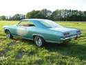 Chevrolet Impala 1965 Ss 2d Hard Top Light Green 013