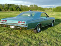 Chevrolet Impala 1965 Ss 2d Hard Top Light Green 036