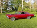 Chevrolet Impala 1965 SS Red